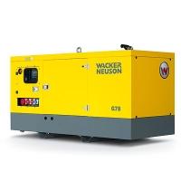 Трехфазные генераторы Wacker (22 — 43 kVA) серии G