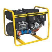 Трехфазные генераторы (5,38 — 12 kVA) серии G / GV